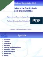 Sistema de Controle de Acesso Informatizado