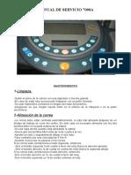 Manual de Servicio(Español)