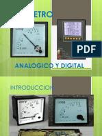 Cosfimetro Analogico y Digital