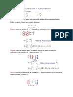 Regla de Cramer Para Dos Variables Tema 28-05-18