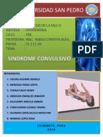 Informe de Sindrome Convulsivo