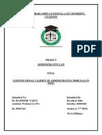 admin law