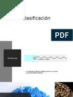 clasificación surfactantes