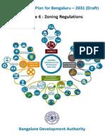 Bengaluru BDA RMP 2031 PD Index Map