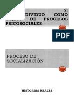 UNIDAD 2 PROCESOS PSICOSOCIALES 3° MEDIO (2018)