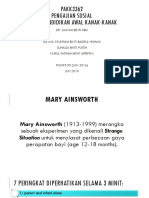 Mary Ainsworth Edited