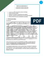 Informe 1 (La Medición y Error de Medición)