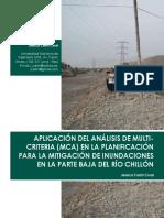APLICACIÓN DEL ANÁLISIS DE MULTICRITERIA (MCA) EN LA PLANIFICACIÓN PARA LA MITIGACIÓN DE INUNDACIONES EN LA PARTE BAJA DEL RÍO CHILLÓN.pdf