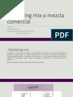 Marketing Mix o Mezcla Comercial