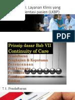 5. Esensi Bab Vii Layanan Klinis Yg Berorientasi Pasien