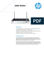 Datasheet  Route HP