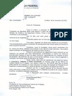 Pedido de exoneração Sérgio Moro