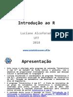 Introdução Ao R - Curso Online - Profa. Luciane Alcoforado2503