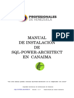 Manual de Instalacion SQL Power Architect