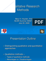 Qualitative Research Methods - Hayden.ppt