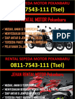 0811-7543-111 (Tsel), Rental Honda di Pekanbaru, Tempat Rental Honda di Pekanbaru,