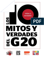 Los 10 mitos y verdades del G20