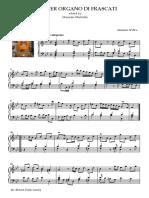 Aria Per Organo Di Frascati (Séc. XVII, Ms Braga)