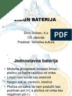 LIMUN_BATERIJA.ppt