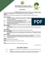 Bases Campeonato de Fulbito y Voley Rmb 2014