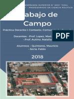 Ejemplo de Trabajo de Campo de Observacion Institucional.