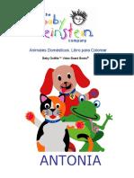 Libro Para Colorear Baby Einstein Los Animales Domesticos