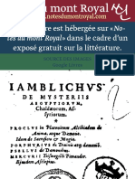 Traducción Original de Ficino (Poimandres)