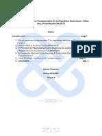 ensayo limites a los derechos fundamentales en el derecho dominicano