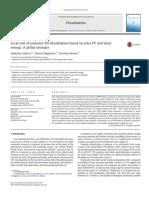 A Global Estimative RO Desalination