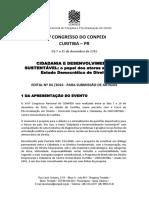 Atualizado Edital Submissao Artigos Curitiba Pr