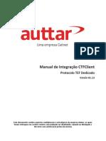 Manual de Integracao CTFClient - Protocolo TEF Dedicado v01.13