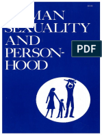 Human Sexuality & Person-Hood