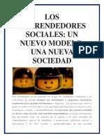 los nuevos  emprendedores sociales