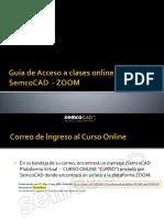 Guía de Acceso a clases online SemcoCAD  - ZOOM.PDF
