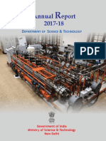 DST Annual Report English 2017-18