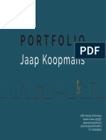 Portfolio - Jaap Koopmans - Bachelor Architecture TU Delft