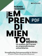 Fracaso Del Emprendimiento Universitario 2018