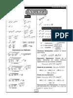 2.Mini Formulario Algebra