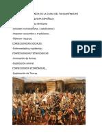 Causa y Consecuencia de La Caida Del Tahuantinsuyo
