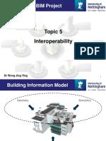 interoperability of BIM