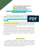 Resumen Normas Trabajos de Investigacion Núcleo Canaobo-Prof.efrain Rodriguez