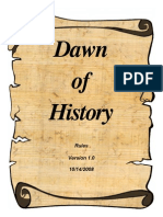 Dawn of History Rules v1.0