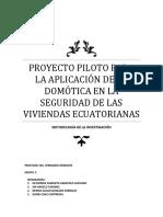 Metodologia de La Investigacion  Domotica