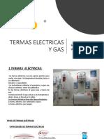 Termas Electricas y Gas