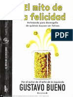 BUENO, G.- El Mito de La Felicidad