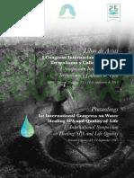 ACTAS I Symposium Internacional Del Agua. Termalismo y Calidad de Vida
