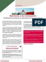 Barreras a La Innovacion