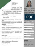 CV ANGIE MARCANO Ingeniero Ambiental