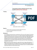 Ccnpv7.1 Switch Lab7-1 Ntp Instructor