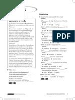 Solutions Pre-Intermediate Cumulative Test B